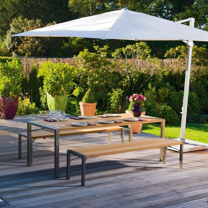 Flip table de jardin pliable weish upl - Table de jardin pliable ...