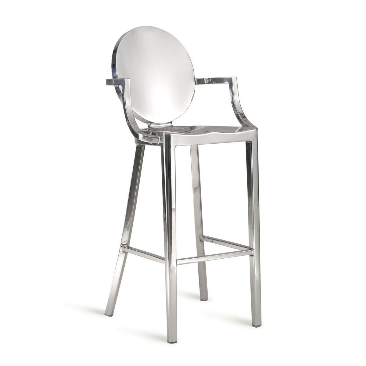 Kong Barstool With Armrests Emeco Ambientedirect Com