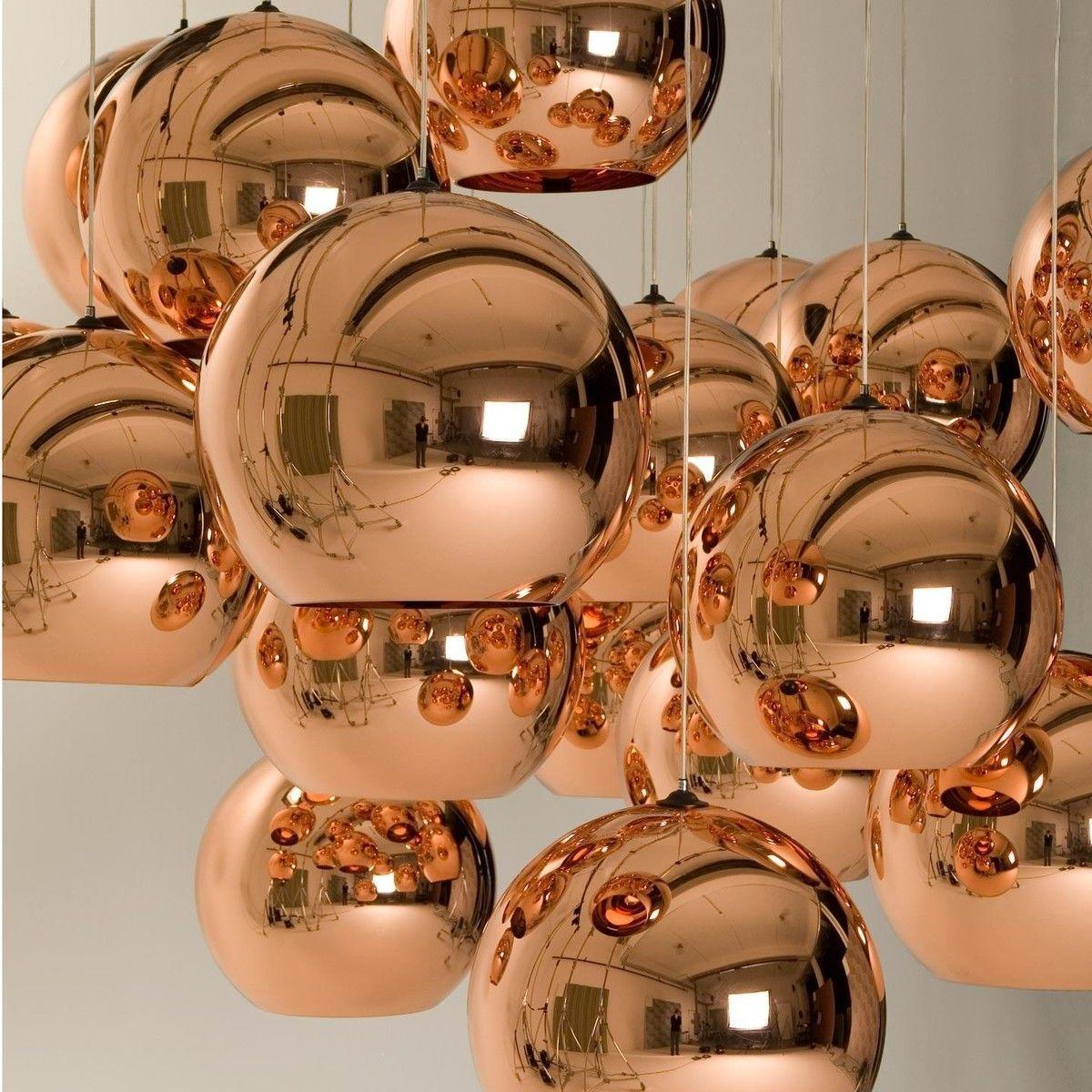 copper shade pendelleuchte tom dixon. Black Bedroom Furniture Sets. Home Design Ideas