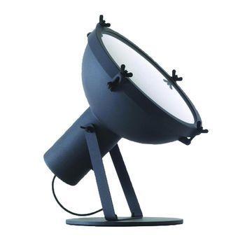 Nemo - Projecteur 365 Bodenleuchte - nachtblau/satiniert/H: 43cm/Ø37cm
