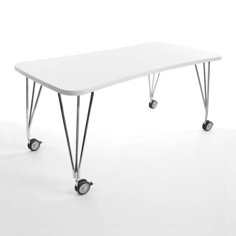 max tisch mit rollen 160x80cm kartell. Black Bedroom Furniture Sets. Home Design Ideas