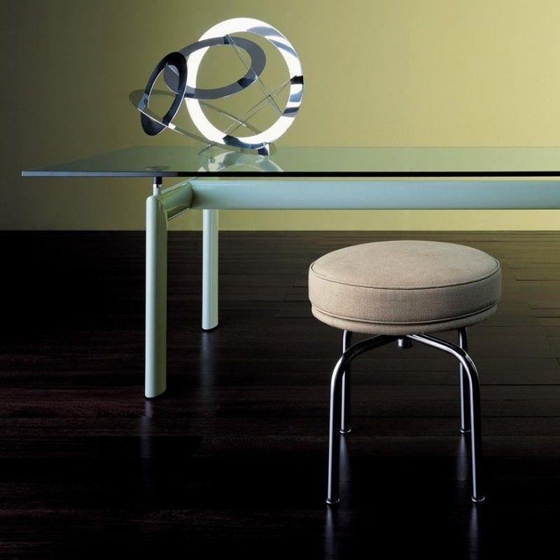 Le corbusier lc6 table cassina cassina charlotte - Table le corbusier lc6 ...