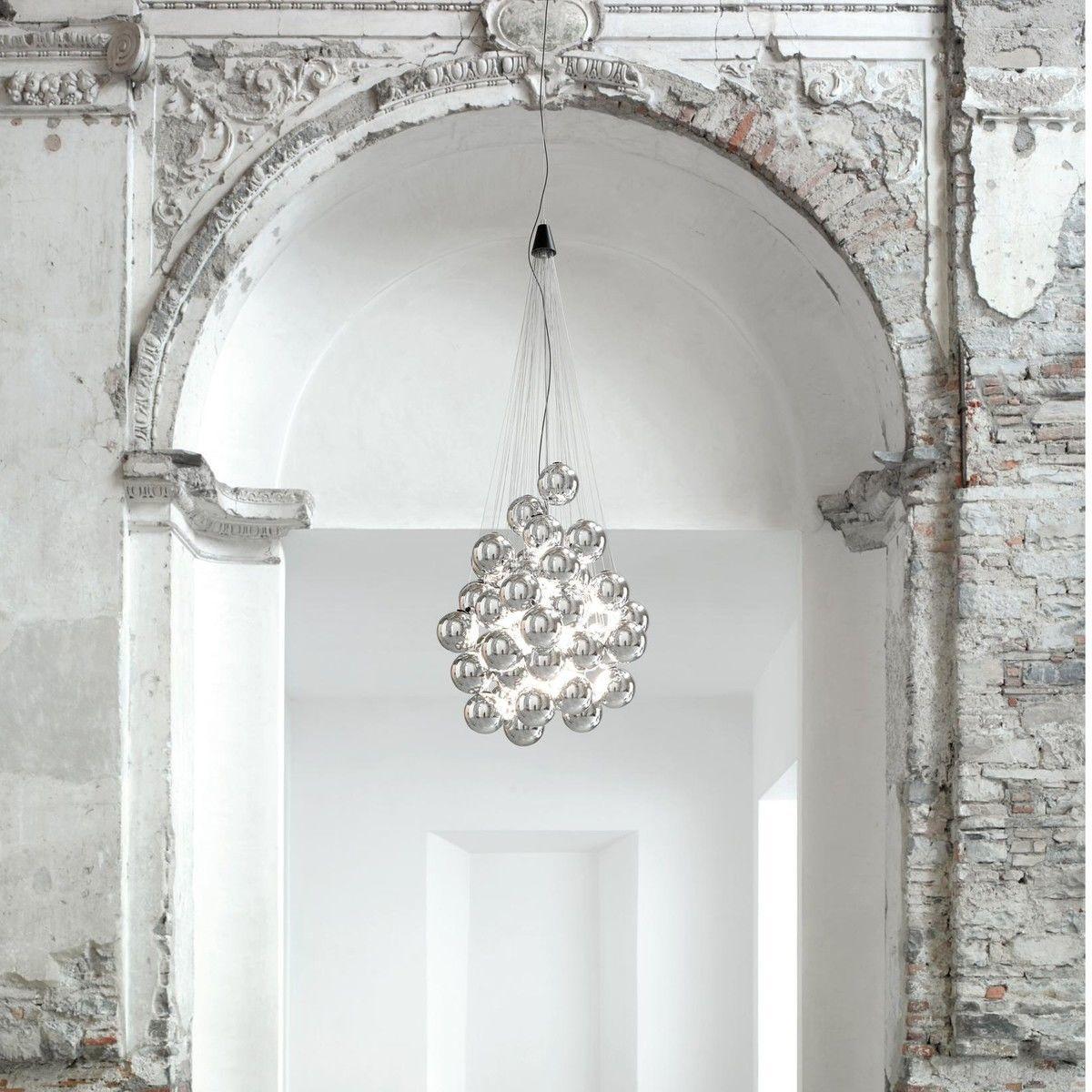 stochastic led suspension lamp luceplan. Black Bedroom Furniture Sets. Home Design Ideas