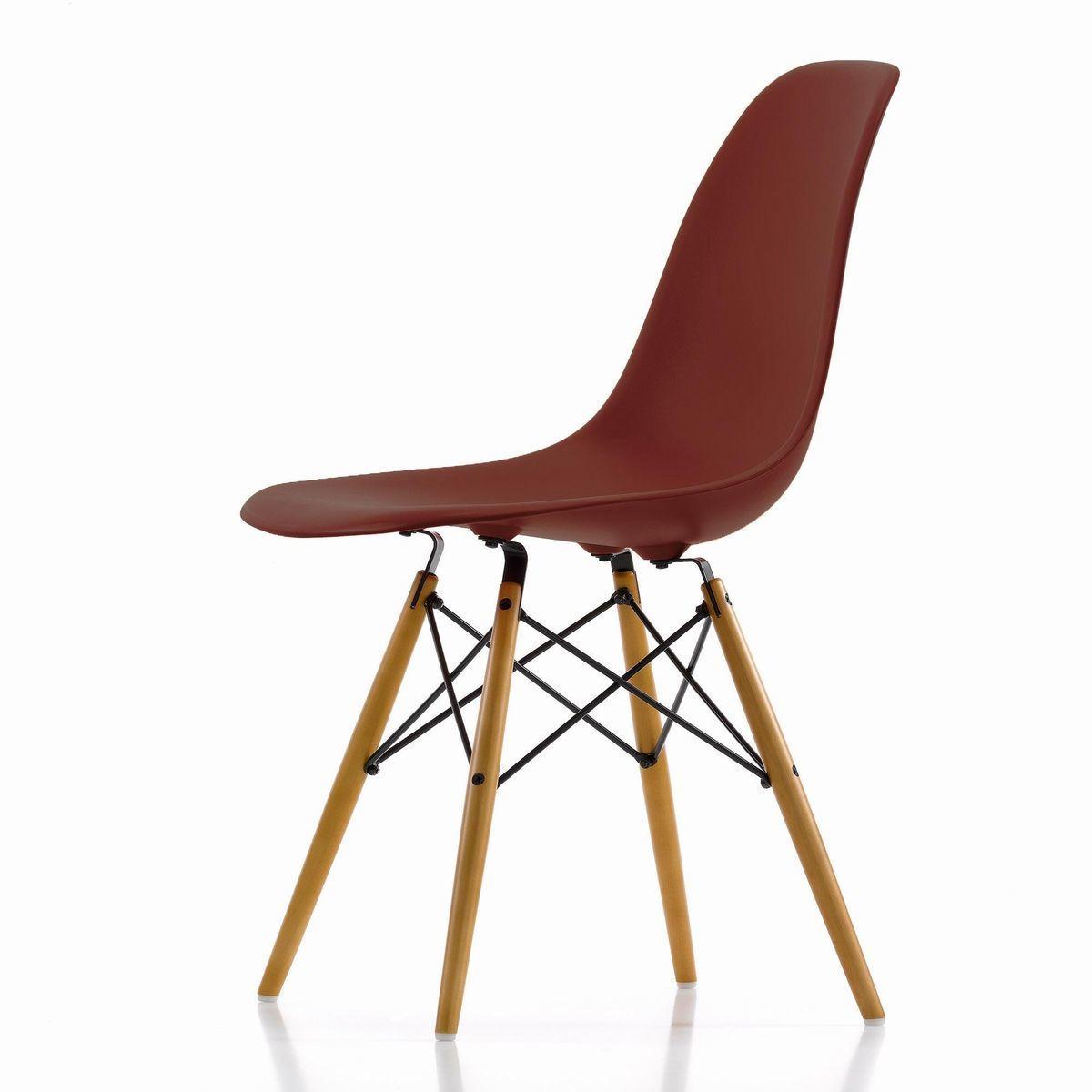 Eames Plastic Side Chair Dsw H43cm Vitra