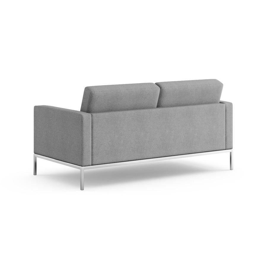 florence knoll 2 seater sofa knoll international. Black Bedroom Furniture Sets. Home Design Ideas