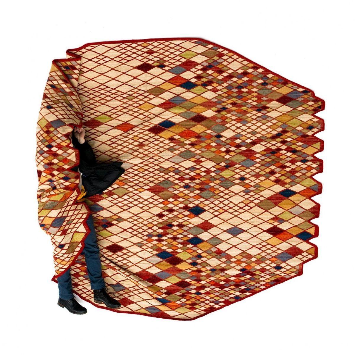 losanges bouroullec design teppich nanimarquina. Black Bedroom Furniture Sets. Home Design Ideas