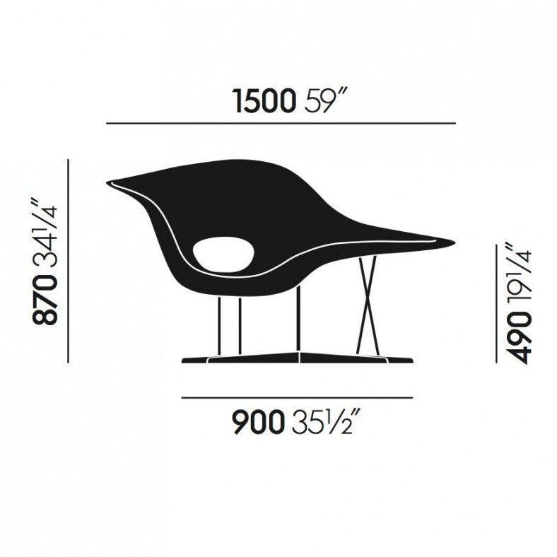 La chaise eames chaise longue vitra - La chaise longue paris 16 ...