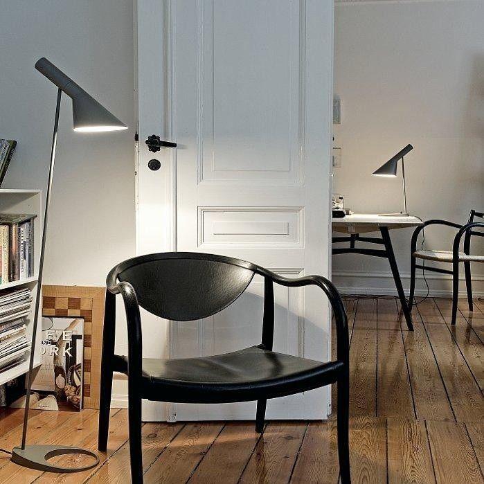 aj stehleuchte louis poulsen. Black Bedroom Furniture Sets. Home Design Ideas