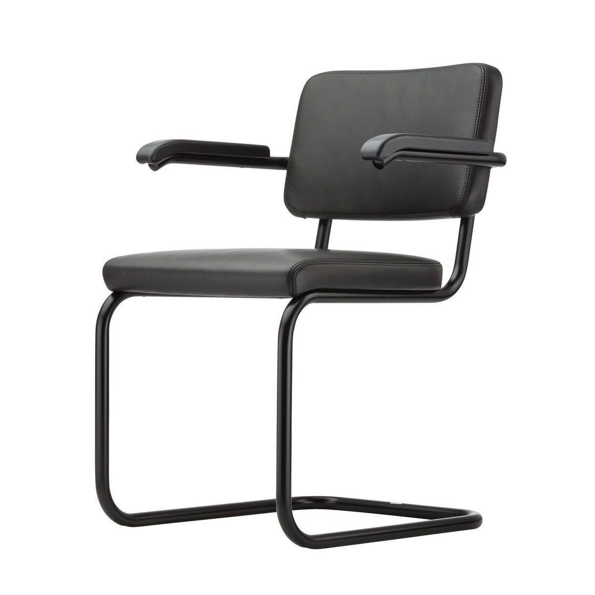 s 64 freischwinger stuhl black white thonet On thonet stuhl schwarz