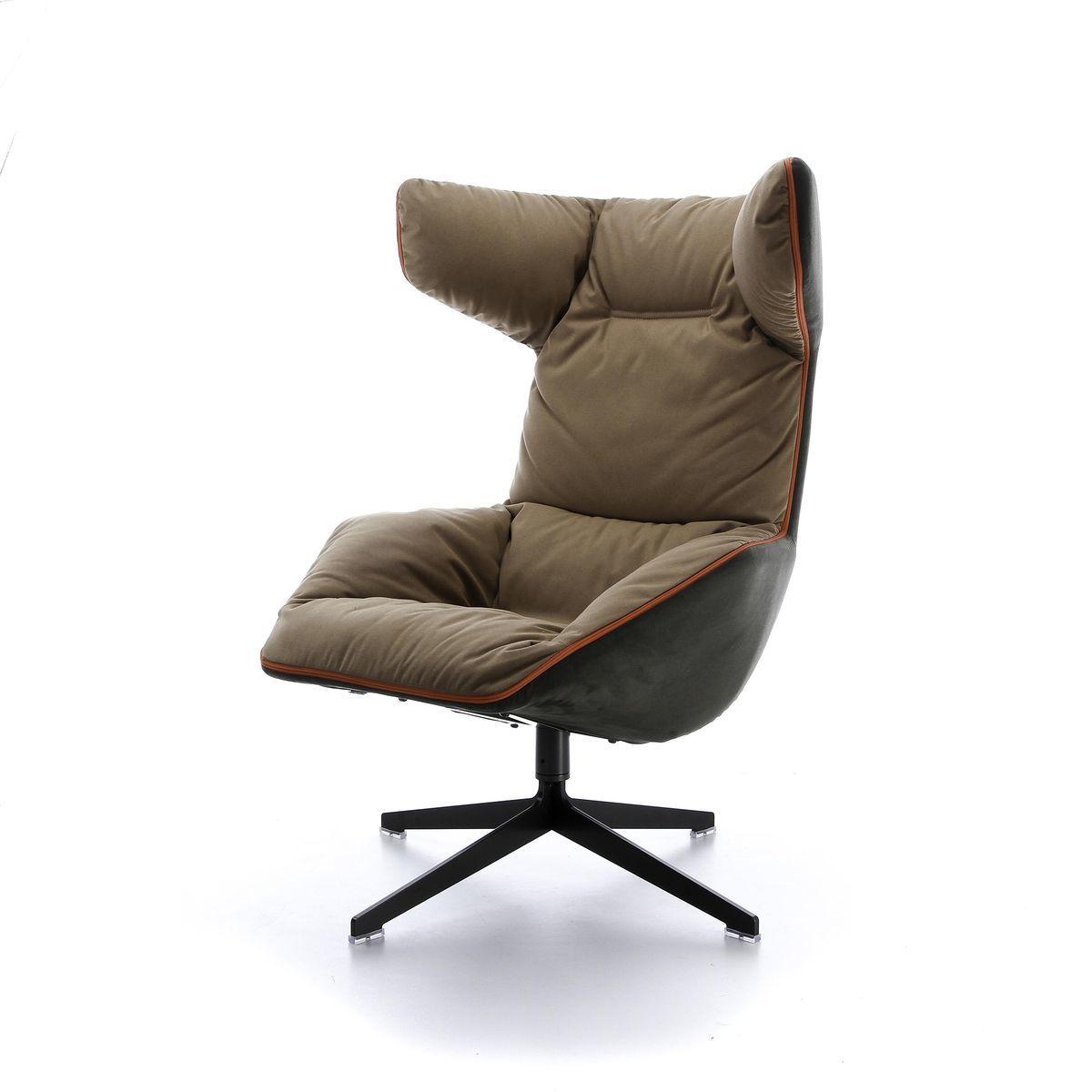 take a line for a walk swivel armchair moroso. Black Bedroom Furniture Sets. Home Design Ideas