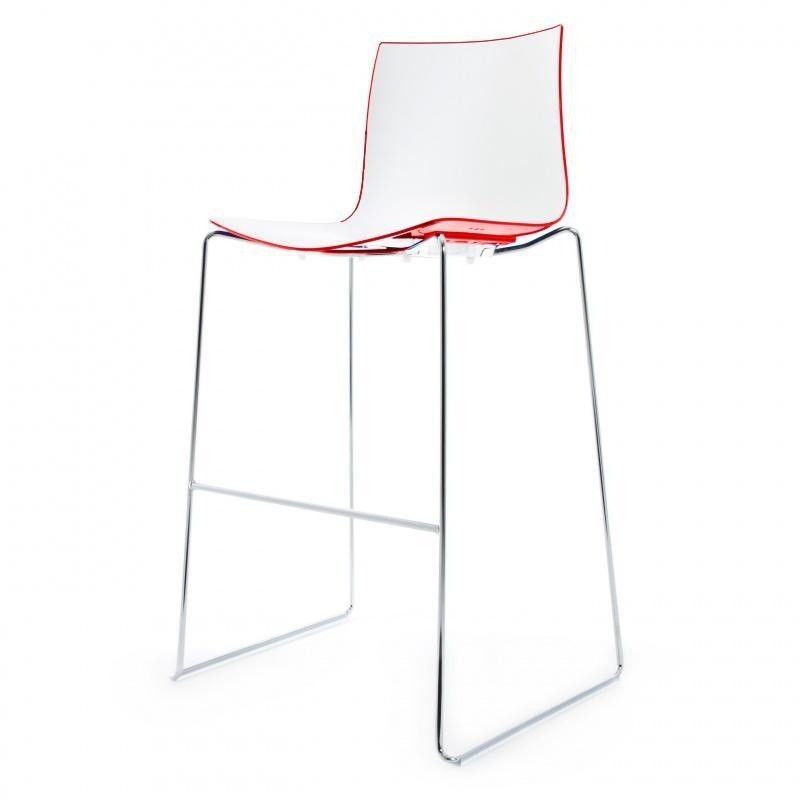 catifa 46 0471 tabouret de bar bicolore arper. Black Bedroom Furniture Sets. Home Design Ideas