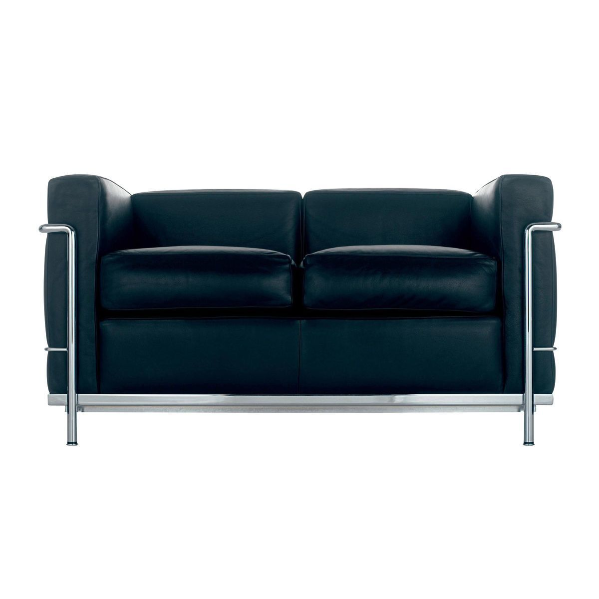 le corbusier lc2 sofa cassina cassina. Black Bedroom Furniture Sets. Home Design Ideas