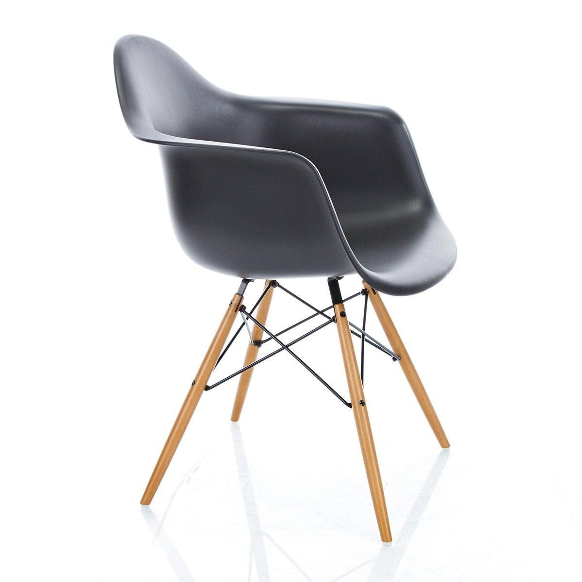 eames plastic armchair daw fauteuil h43cm vitra. Black Bedroom Furniture Sets. Home Design Ideas