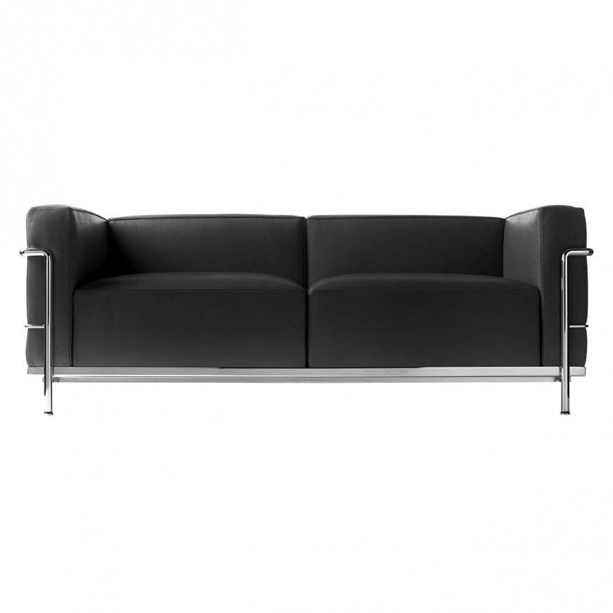 le corbusier lc3 sofa cassina cassina. Black Bedroom Furniture Sets. Home Design Ideas