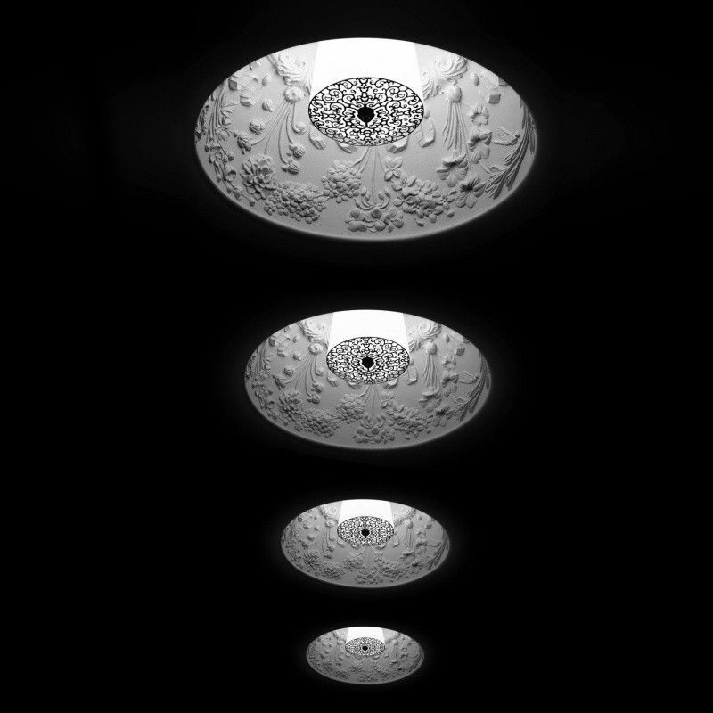 Skygarden recessed ceiling lamp flos for Flos bathroom light
