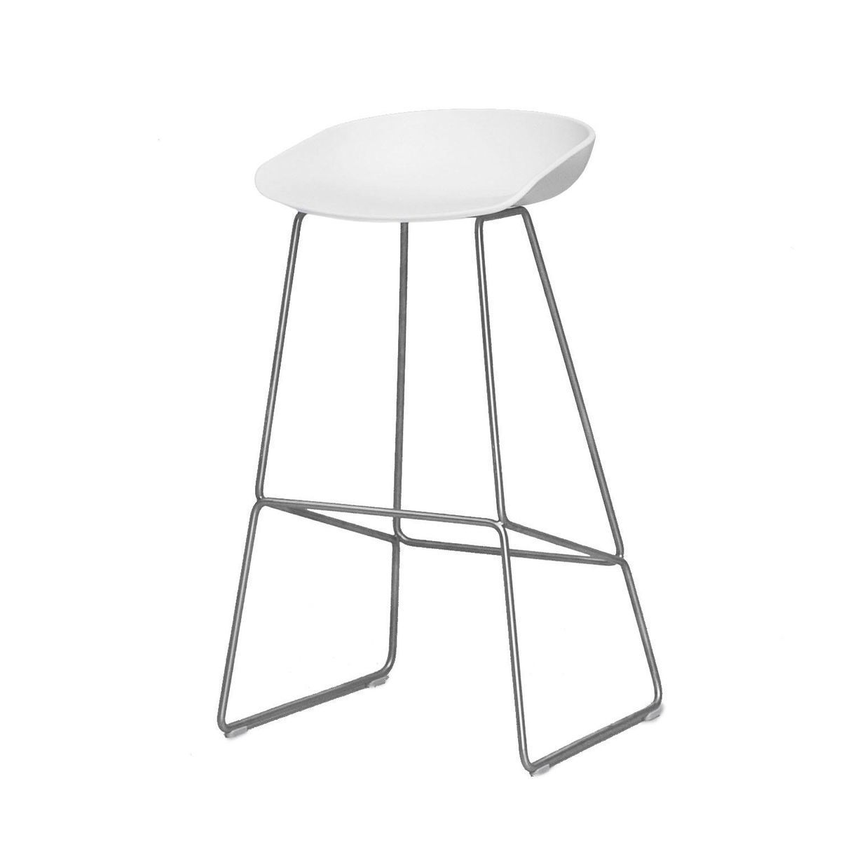 About A Stool Aas38 Bar Stool 65cm Hay Ambientedirect Com