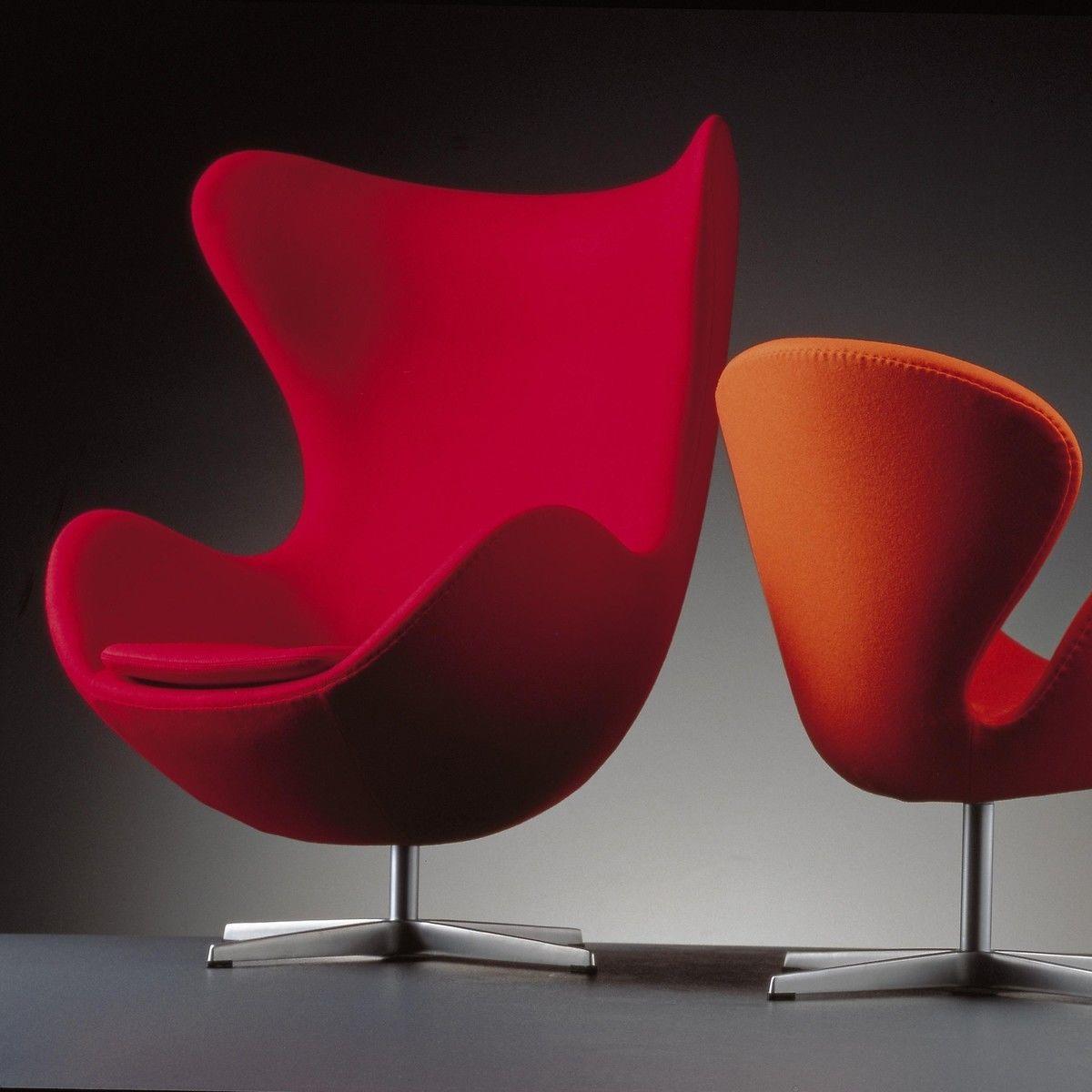 egg chair das ei loungesessel stoff fritz hansen. Black Bedroom Furniture Sets. Home Design Ideas