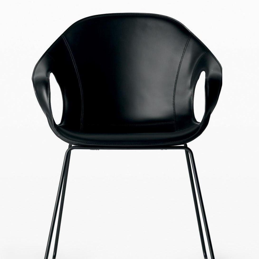 elephant armlehnstuhl leder kristalia. Black Bedroom Furniture Sets. Home Design Ideas