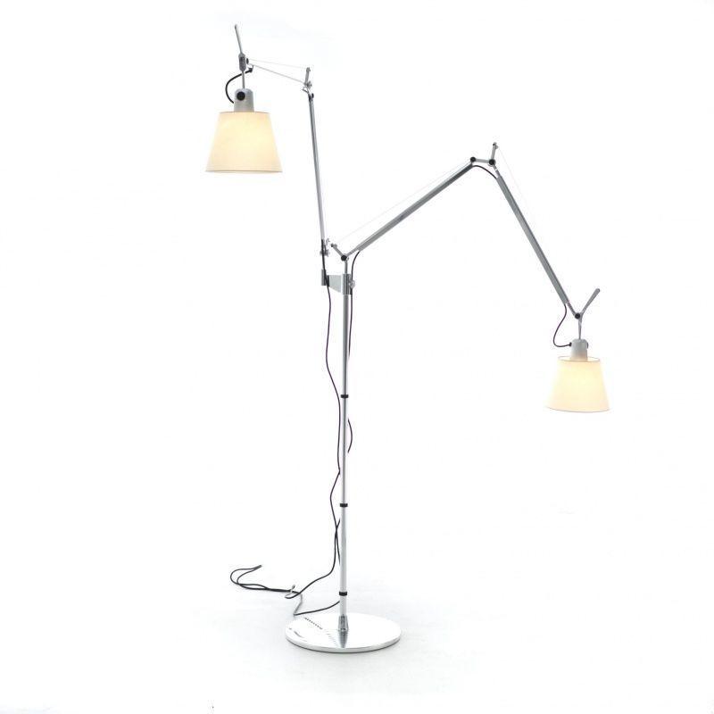 tolomeo pergamena terra doppio floor lamp artemide. Black Bedroom Furniture Sets. Home Design Ideas