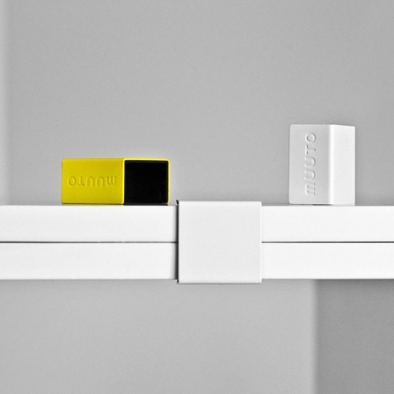 muuto stacked shelf system white muuto. Black Bedroom Furniture Sets. Home Design Ideas