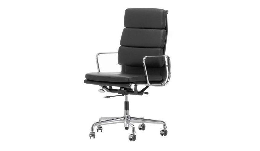 Ea 219 soft pad eames chair chaise de bureau vitra for Chaise de bureau vitra prix