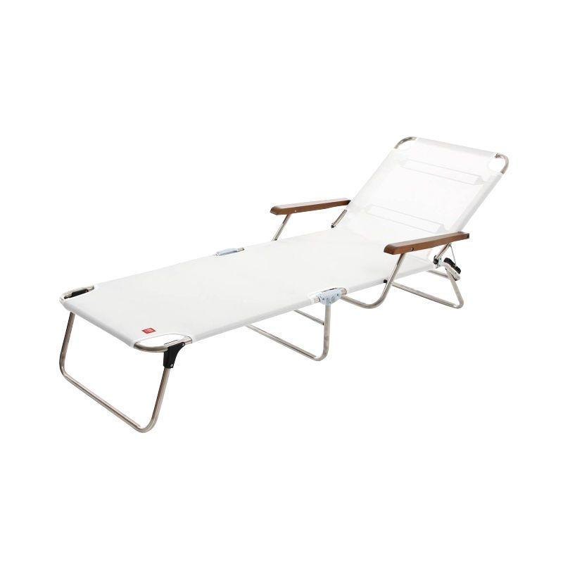 fiam amigo chaise longue avec accoudoirs jan kurtz. Black Bedroom Furniture Sets. Home Design Ideas