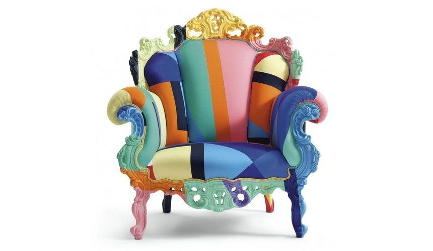 Proust geometrica mendini fauteuil cappellini for Fauteuil proust
