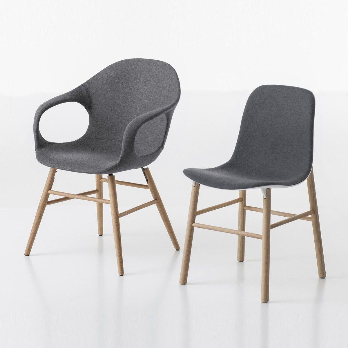 sharky chair upholstered kristalia. Black Bedroom Furniture Sets. Home Design Ideas