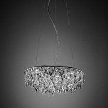 Anthologie Quartett - Crystal Rain Suspension Lamp Ø45cm