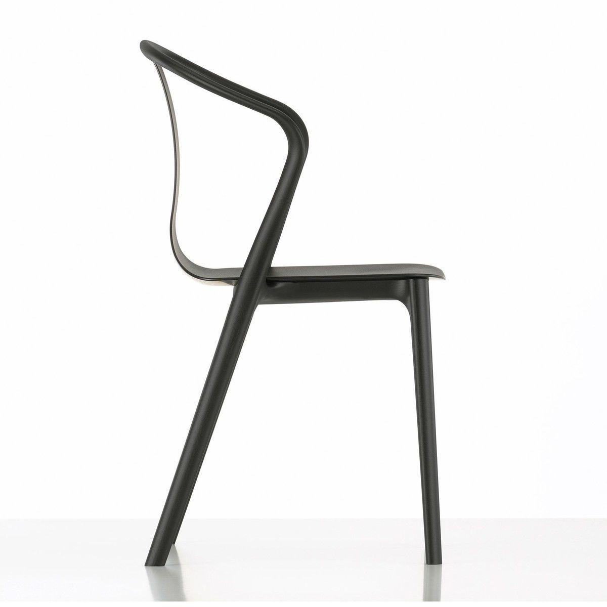 Belleville armchair plastic chaise de jardin vitra for Chaise de jardin pvc