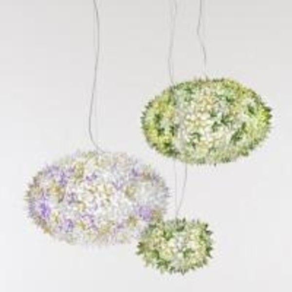 kartell big bloom suspension lamp bloom lamp gold ferruccio laviani