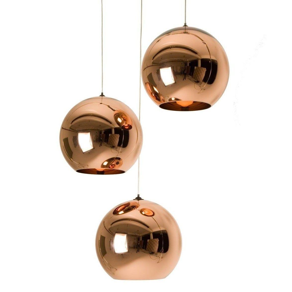 copper shade suspension lamp tom dixon. Black Bedroom Furniture Sets. Home Design Ideas