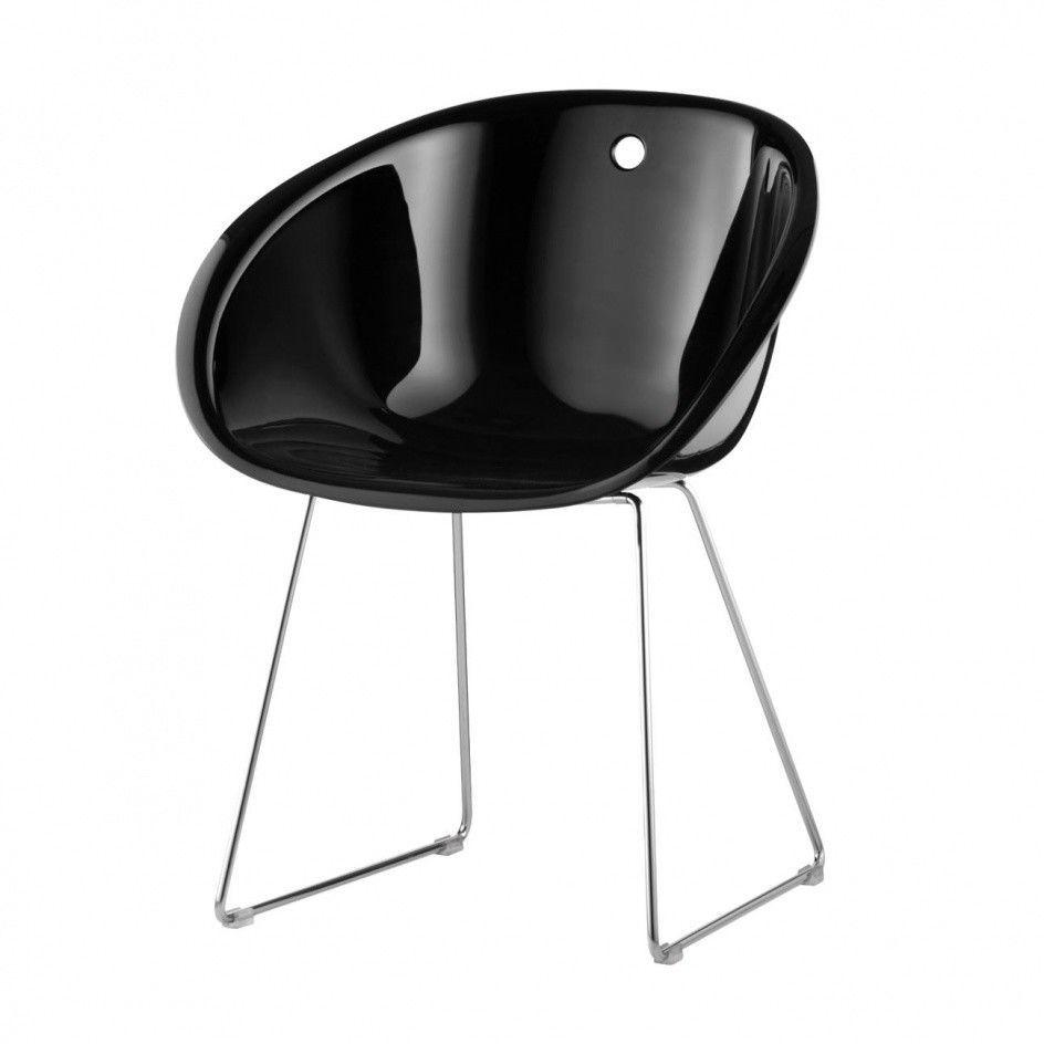 Gliss stuhl mit kufen pedrali for Design stuhl mit kufen