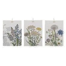 Bloomingville - Botanic Geschirrtücher 3er Set