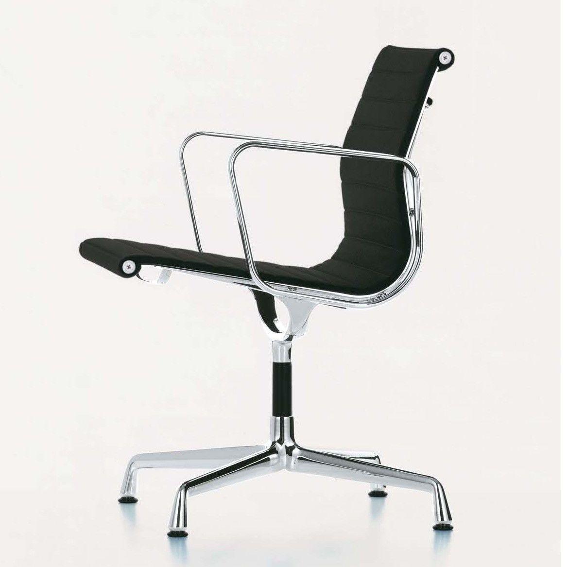 vitra ea 108 aluminium chair chaise de bureau vitra ambientedirect