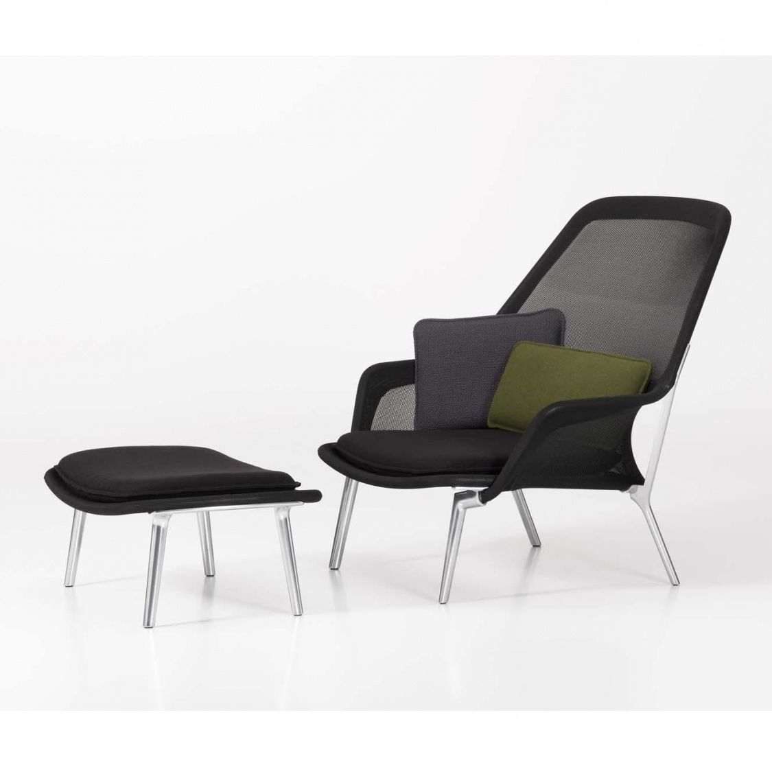 Slow Chair Lounge Chair & Ottoman Vitra