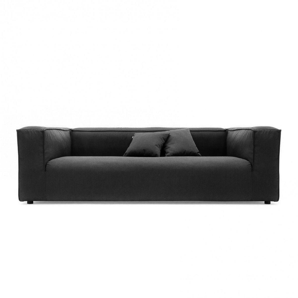 Freistil 175 3 sitzer sofa freistil rolf benz for Sofa ohne kissen