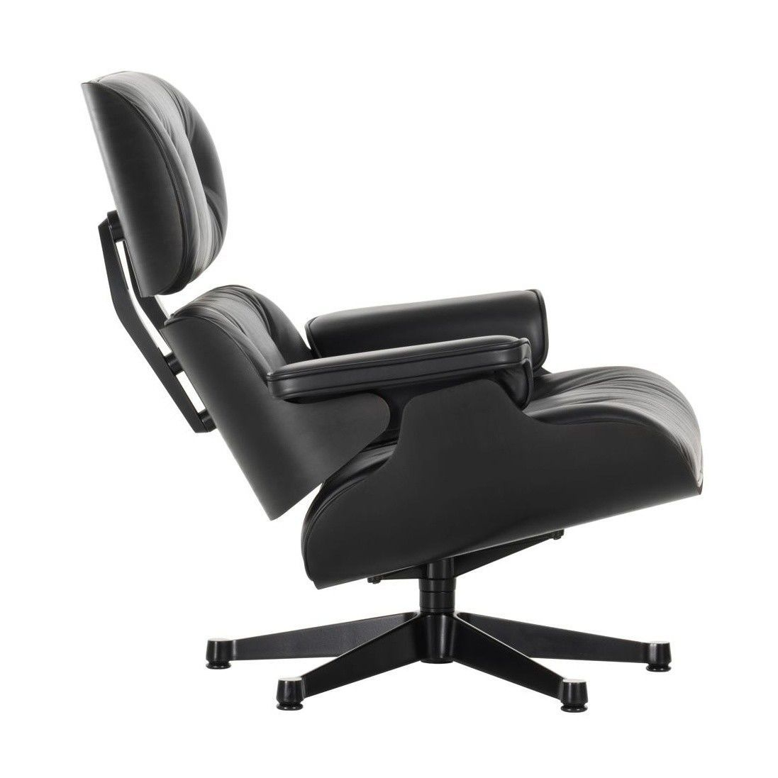 Eames lounge chair xl new size vitra for Eames chair vitra replica