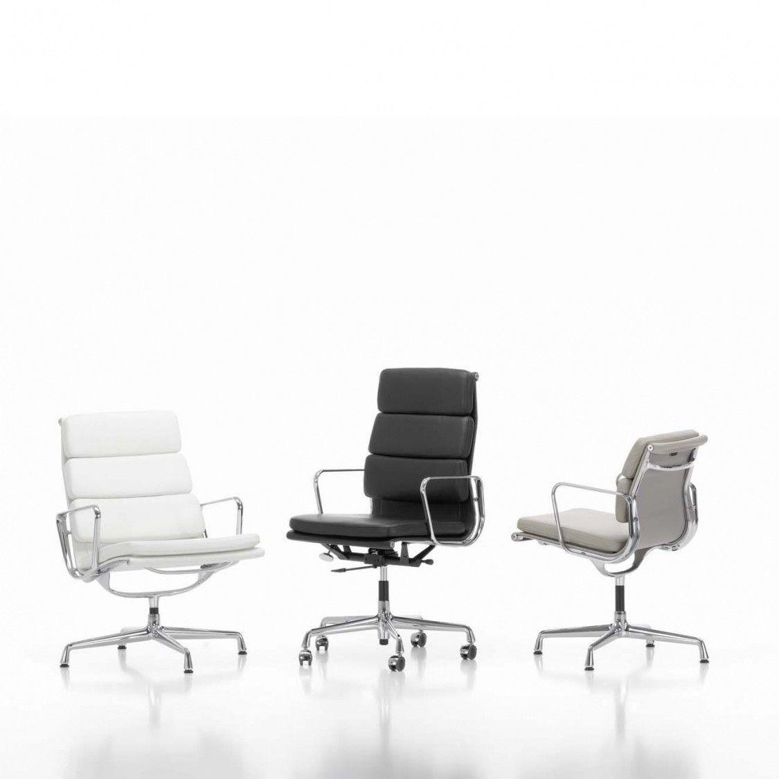 Ea 219 soft pad eames chair chaise de bureau vitra for Chaise de bureau eames