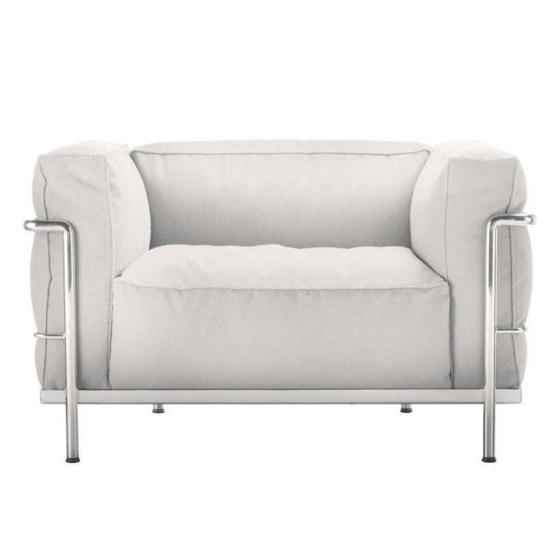 Le corbusier lc3 outdoor fauteuil cassina - Fauteuil le corbusier cassina ...