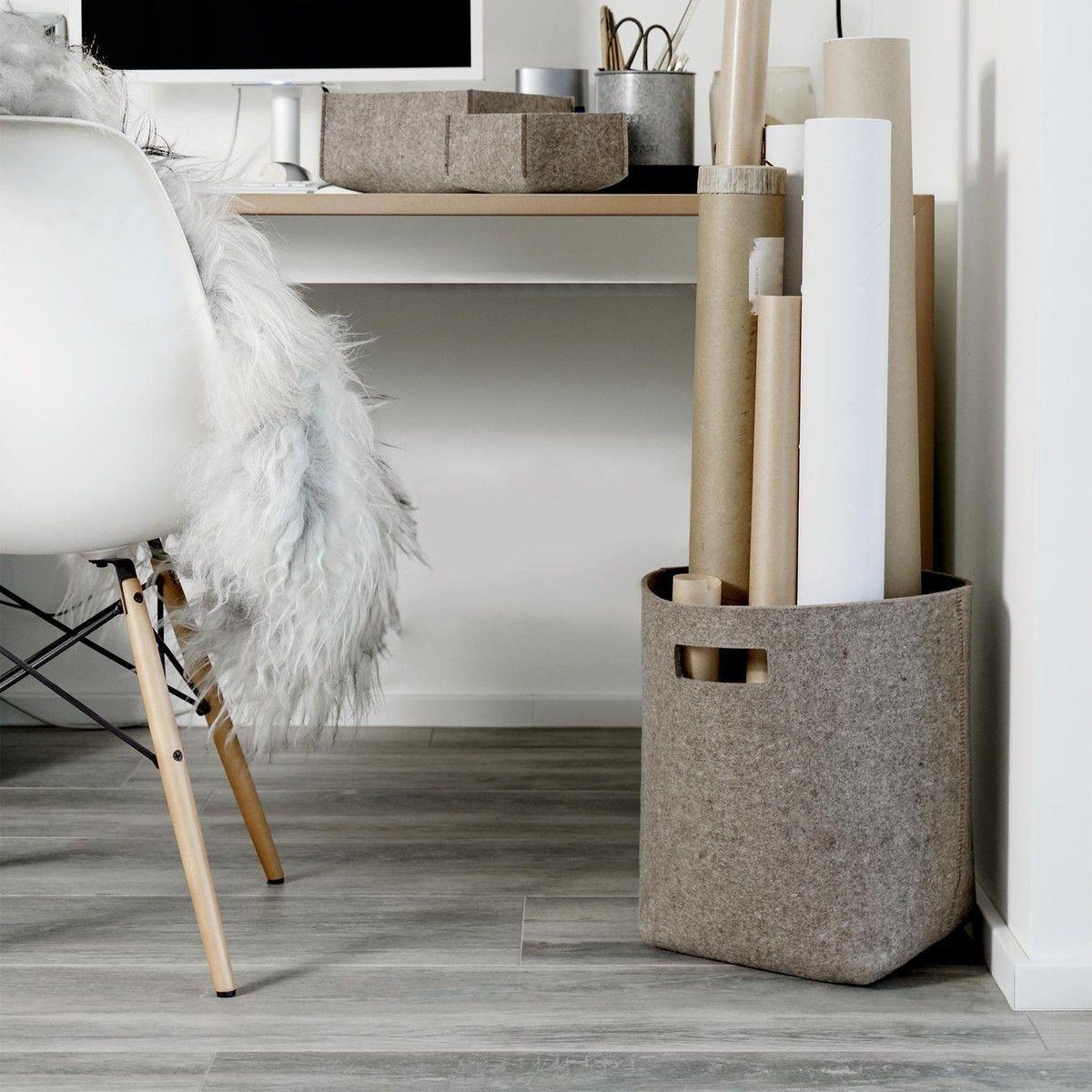 hey sign filz papierkorb hey sign. Black Bedroom Furniture Sets. Home Design Ideas