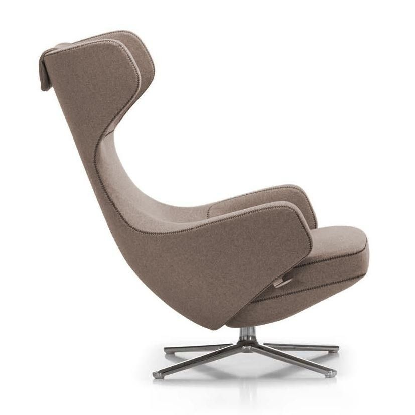 grand repos citterio lounge chair h115cm vitra. Black Bedroom Furniture Sets. Home Design Ideas