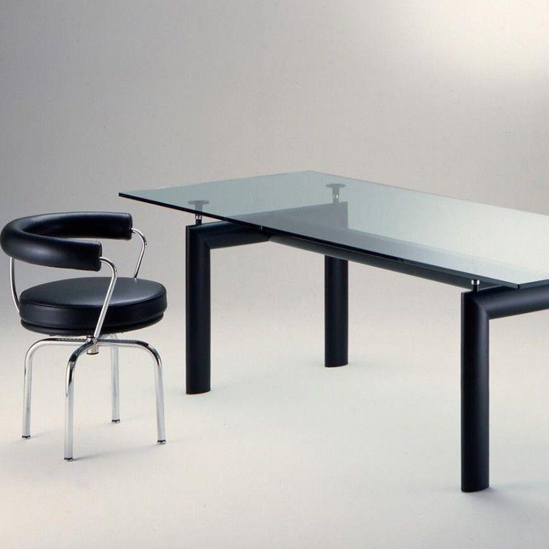 Le corbusier lc6 table cassina cassina - Table basse le corbusier ...