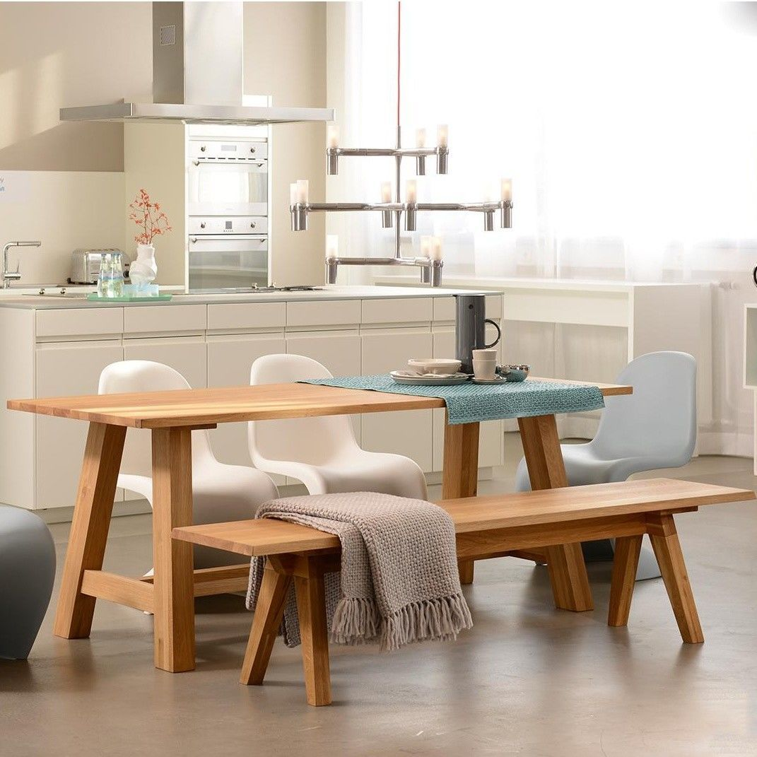 Kitchen Table Wood: Museo Solid Wood Dining Table / Kitchen Table
