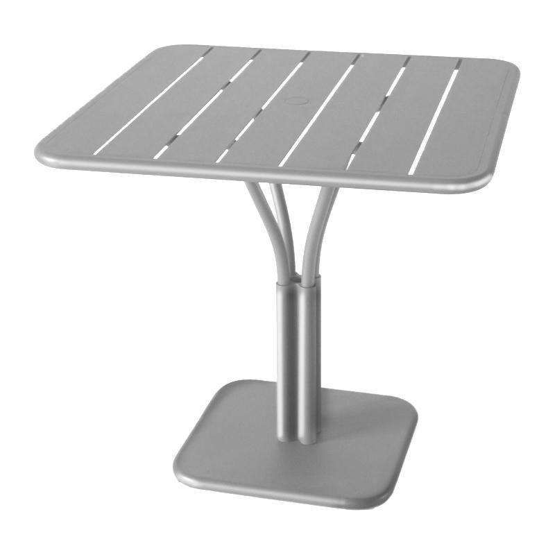 Luxembourg table de bistro 80x80x74cm fermob for Table fois 6
