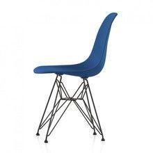 Vitra - Eames Plastic Chair DSR Gestell schwarz H43cm