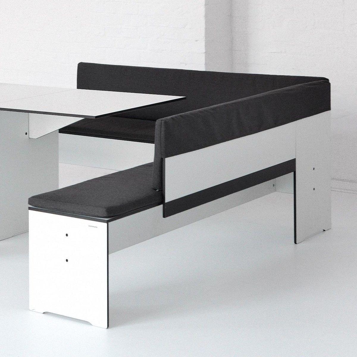 riva banquette d 39 angle conmoto. Black Bedroom Furniture Sets. Home Design Ideas