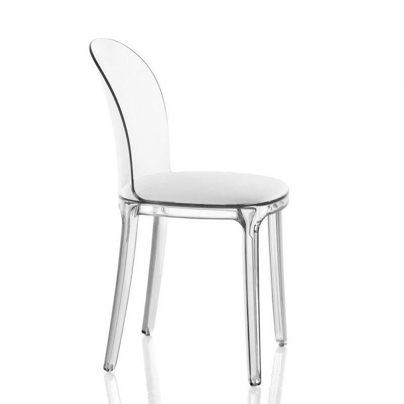 vanity chair transparent magis. Black Bedroom Furniture Sets. Home Design Ideas