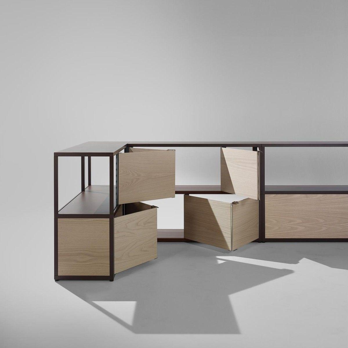 Order Furniture: New Order Shelf With Door 100x115cm