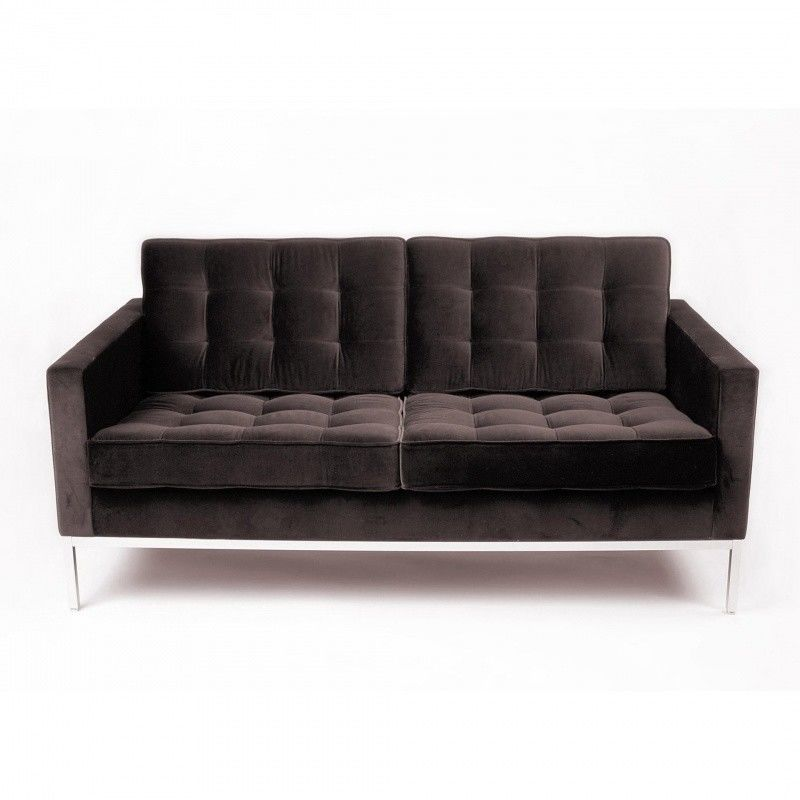florence knoll 2 seater sofa knoll international. Black Bedroom Furniture Sets. Home Design Ideas